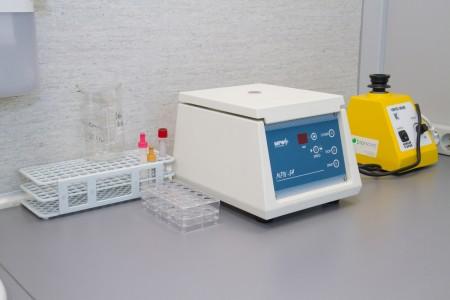 Laboratorium PREGMED drobny sprzęt laboratoryjny